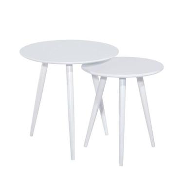 Zestaw stolików Melison średnica 40 cm i 50 cm