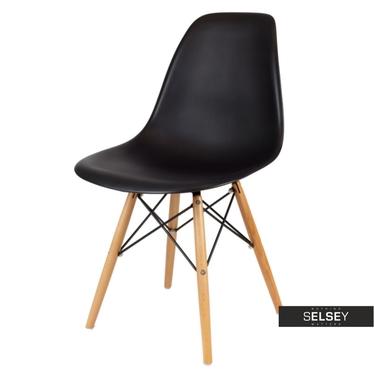 Krzesło Basic czarne buk
