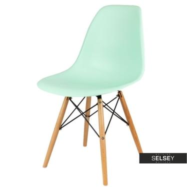 Krzesło Basic miętowe buk