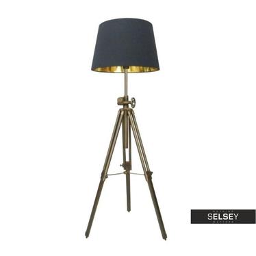 Lampa podłogowa Atelier czarna