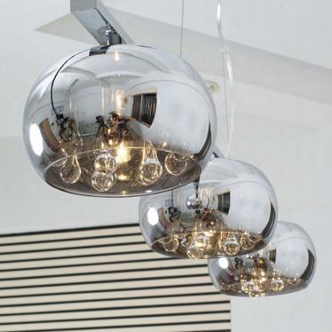 Lampa wisząca Glamour podłużna 102 cm