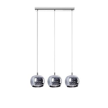 Lampa wisząca Glamour podłużna x3