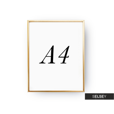 Rama A4 Złota