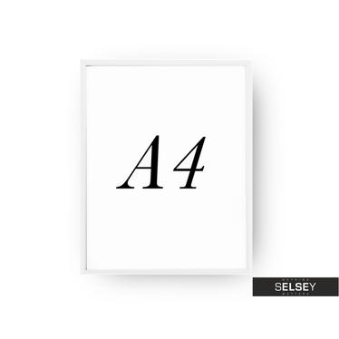Rama A4 Biała