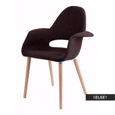 Krzesło A-Shape brązowe