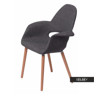 Krzesło A-Shape ciemnoszare