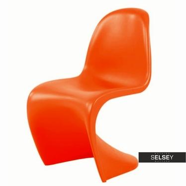 Krzesło Balance pomarańczowe