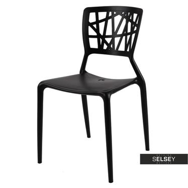 Krzesło Bush czarne