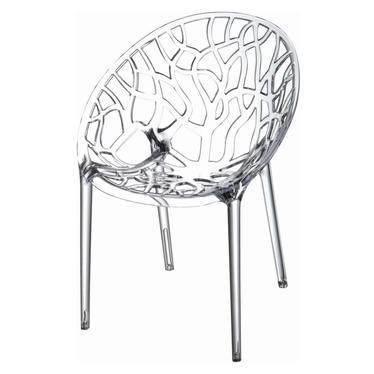Krzesło Coral transparent