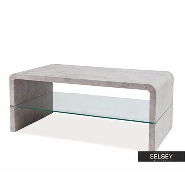 WYCOFANA Ława Costa 110x60 cm beton