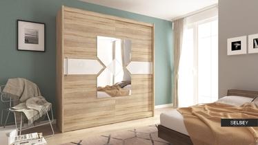 Szafa Patti z lustrem w kształcie klepsydry