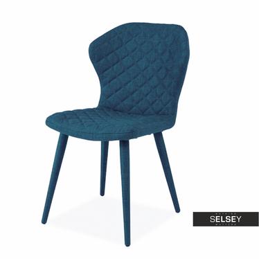 Krzesło Mangold niebieskie