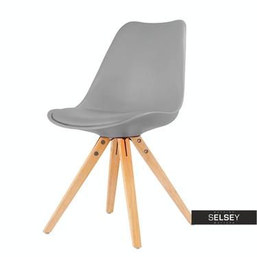 Krzesło Luis ROT II szare