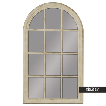 Lustro Window 80x136 cm kremowe
