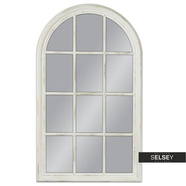 Lustro wiszące Window 80x136 białe