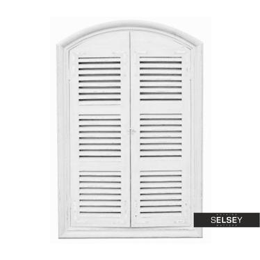 Lustro Window 80x120 cm białe