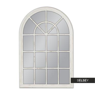 Lustro wiszące Window 74x104 białe