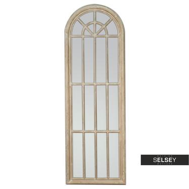 Lustro Window 60x180 cm kremowy
