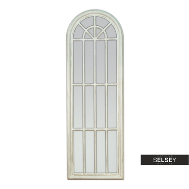 Lustro wiszące Window 60x180 białe