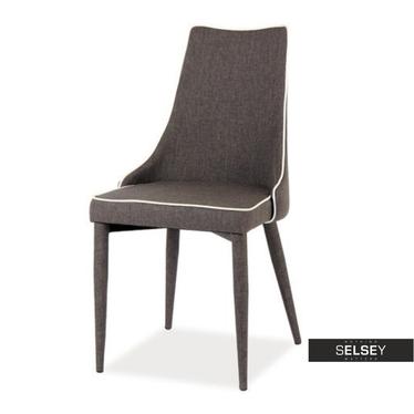 Krzesło Tolga szary melanż materiał
