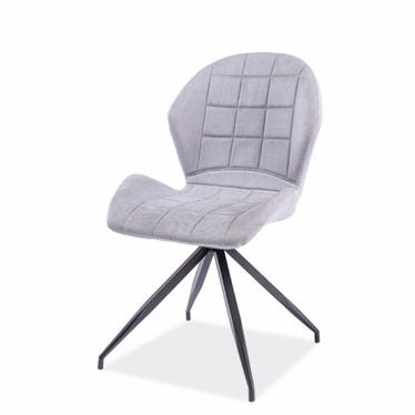 Krzesło Collo II jasnoszare