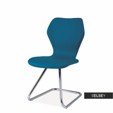 Krzesło Oklahoma niebieskie