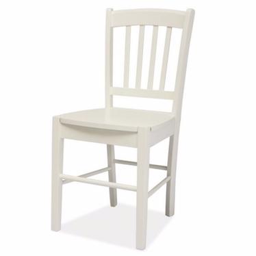 Krzesło Bergen białe