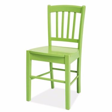 Krzesło Bergen zielone
