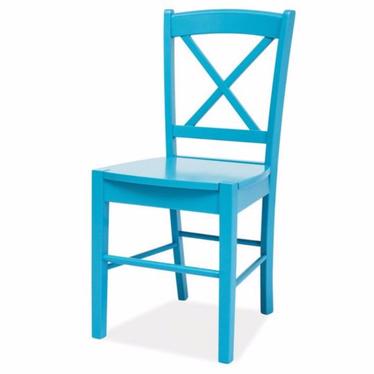 Krzesło Svene niebieskie