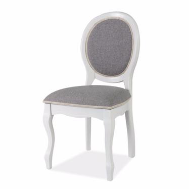 Krzesło Andalen biało - szare