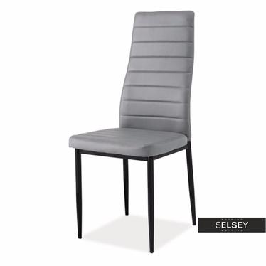 Krzesło Lastad szaro - czarne
