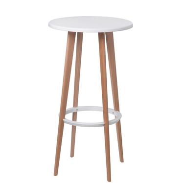 Stół Lush średnica 60 cm biały