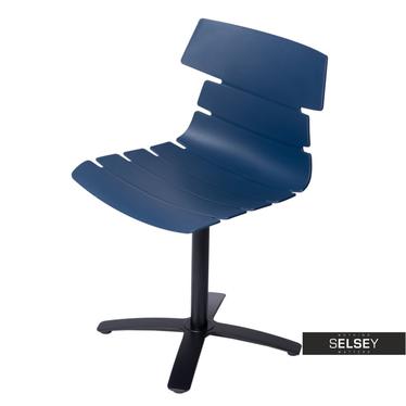 Fotel biurowy Techno One niebieski