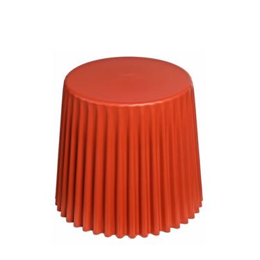 Stolik kawowy Cork średnica 47 cm dark orange
