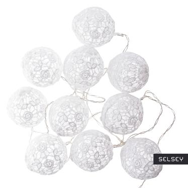 Cotton balls 10 szt 6 cm koronka