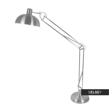 Lampa podłogowa Roboto srebrna