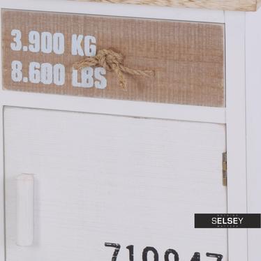 Komoda Amy dwudrzwiowa z dwiema szufladami