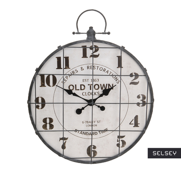 Zegar ścienny Old Town średnica 48 cm metal