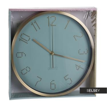 Zegar Cute pixelowe cyfry średnica 30 cm