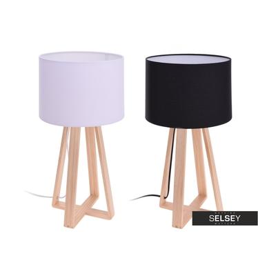 Lampa stołowa ze skrzyżowaną podstawą 47 cm
