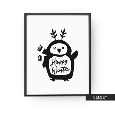 Plakat Happy Winter