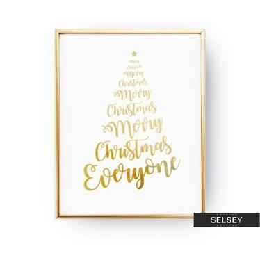 Plakat Merry Christmas – Christmastree