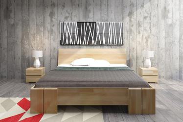 Łóżko Loke z drewna bukowego