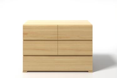 Komoda Loke z drewna sosnowego z pięcioma szufladami
