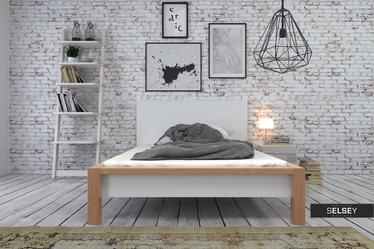 Łóżko drewniane Benin