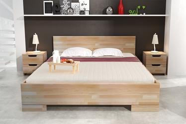 Szafka nocna Halsa z drewna bukowego