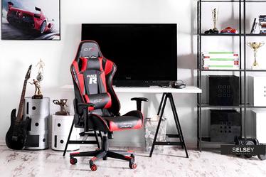 Fotel gamingowy Racer GTS czarno - czerwony