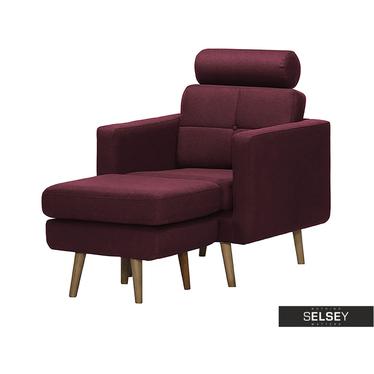 Fotel Vanka z podnóżkiem