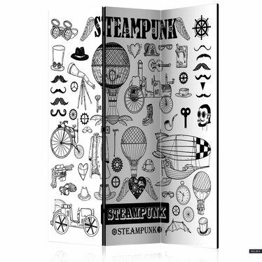 Parawan 3-częściowy - Steampunk