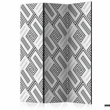 Parawan 3-częściowy - Etno geometria